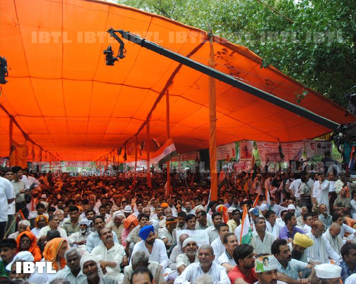Bharat Swabhiman Karyakarta at Jantar Mantar