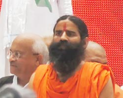 Baba Ramdev against Black Money : Jantar Mantar 03 June 2012