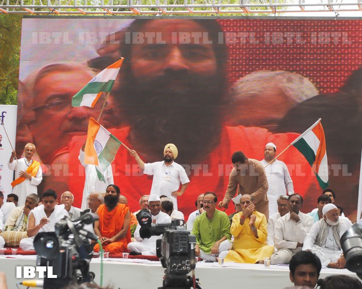 Bharat Swabhiman Andolan : Jantar Mantar 03 June 2012