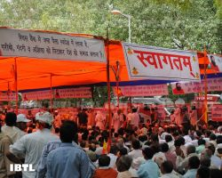 Patriotic Indians at Jantar Mantar