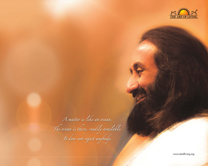 Sri Sri Ravi Shankar a spiritual teacher and an ambassador of peace
