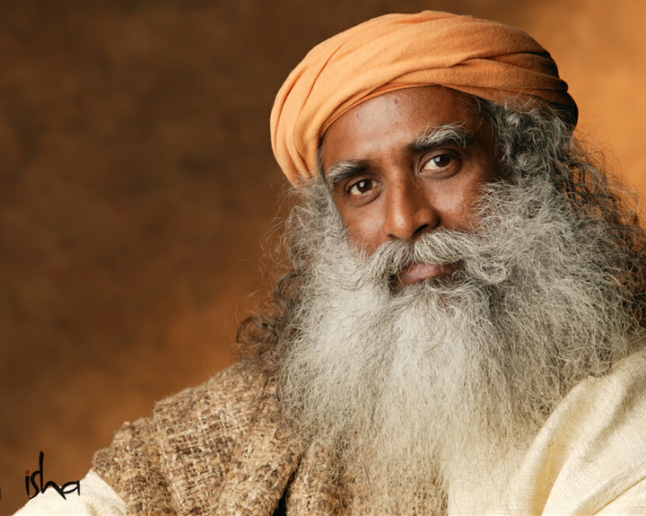 Isha Foundation, founded by Sadhguru Jaggi Vasudev