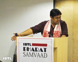 Rahul ji moderating Session - IV : IBTL Bharat Samvaad