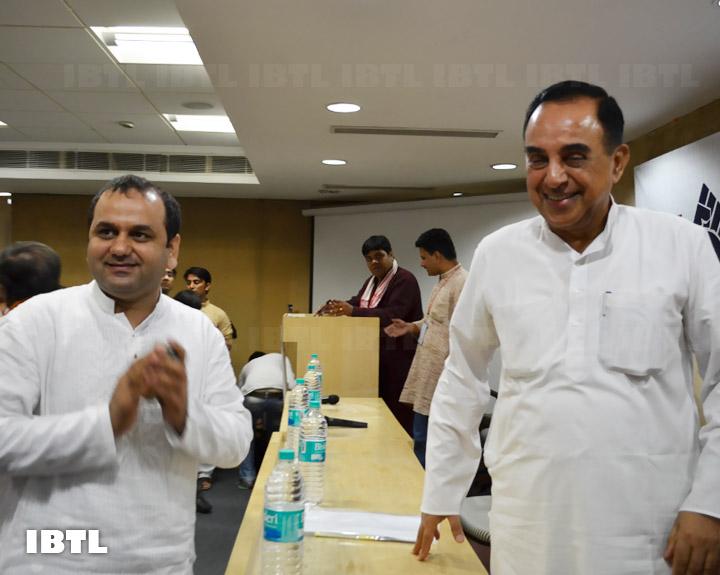 The two stars of the event : IBTL Bharat Samvaad