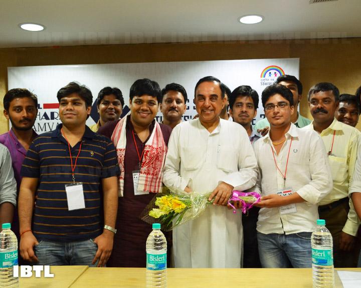 Dr @Swamy39 and Friends - II : IBTL Bharat Samvaad