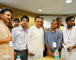 Dr @Swamy39 and Friends : IBTL Bharat Samvaad