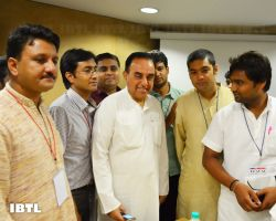 Dr @Swamy39 and Friends - I : IBTL Bharat Samvaad