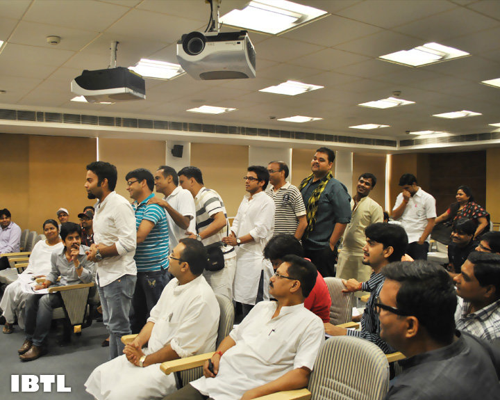 Workshop with Shri Maheish Girri Ji : IBTL Volunteers' Meet