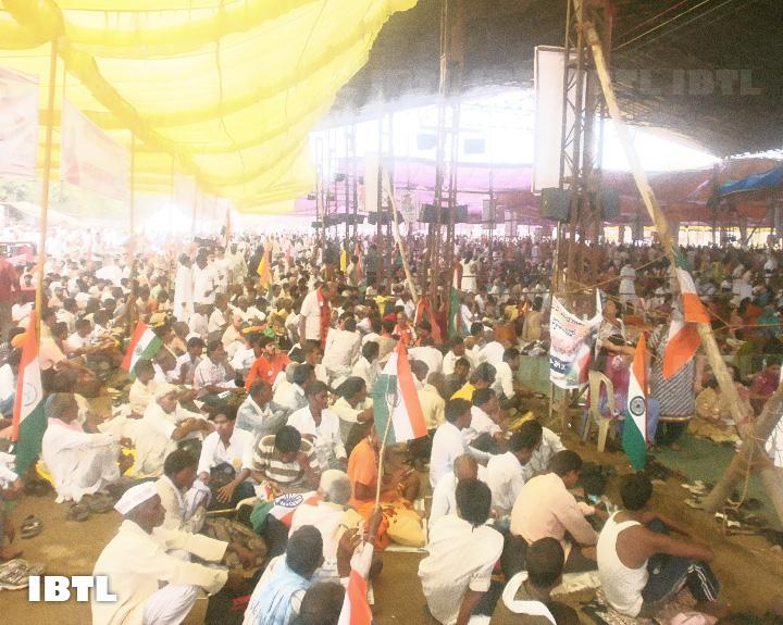 Nirnayaka Andolan, Ramlila Maidan, Delhi 09 August 2012