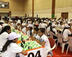 Swami Vivekananda Woman Chess Meet at Mahatma Mandir in Gandhinagar