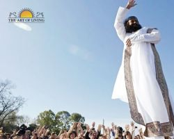 Sri Sri Ravi Shankar in the Planeta Medita event in Argentina