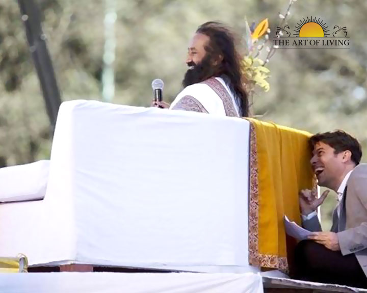 Positive wave of peace, love and joy with Sri Sri in Argentina