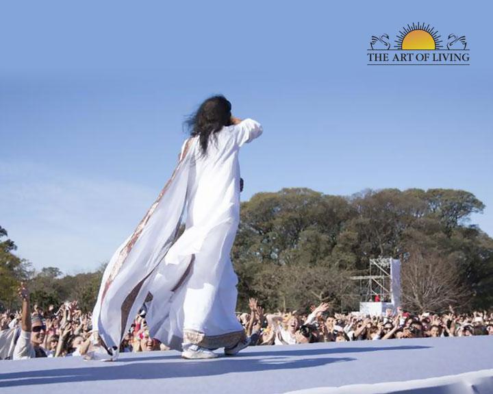 El Planeta Medita, Sri Sri Ravishankar in Argentina