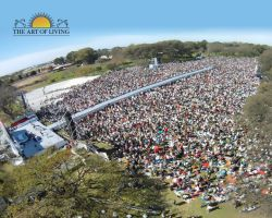 El Planeta Medita with Sri Sri Ravishankar in Argentina