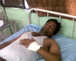 Ex DUSU Secretary Vikas Yadav got injuries on hands