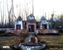 Mata Katyayani Temple in Kashmir damaged by Militants
