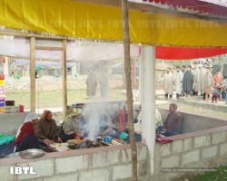 Yagna at Mata Katyayani Temple in village Kakran, District Kulgam, Kashmir