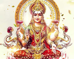 On this day Lakshmi showers blessings for plenty and prosperity, Shubh Diwali