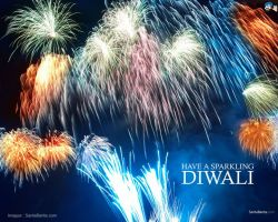 Deepawali falls on an amavasya day it is regarded as the most auspicious