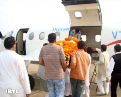 Rajiv Dixit's Dead Body in Plane