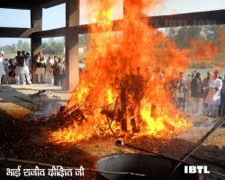 Bhai Rajiv Dixit Ji's Antim Sanskar