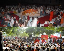 Baba Ramdev's Jan Sabha for Rajiv Ji Dixit