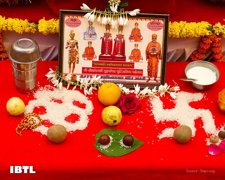 Mahapuja murtis : BAPS Swaminarayan Sanstha