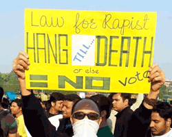 #DelhiGangRape Uprising of New Generation in India, demanding protection and justice