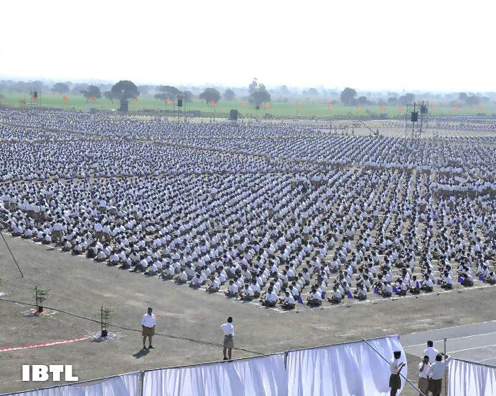 RSS' Malwa Prant Ekatrikaran with 1.15 lac swayamsewaks