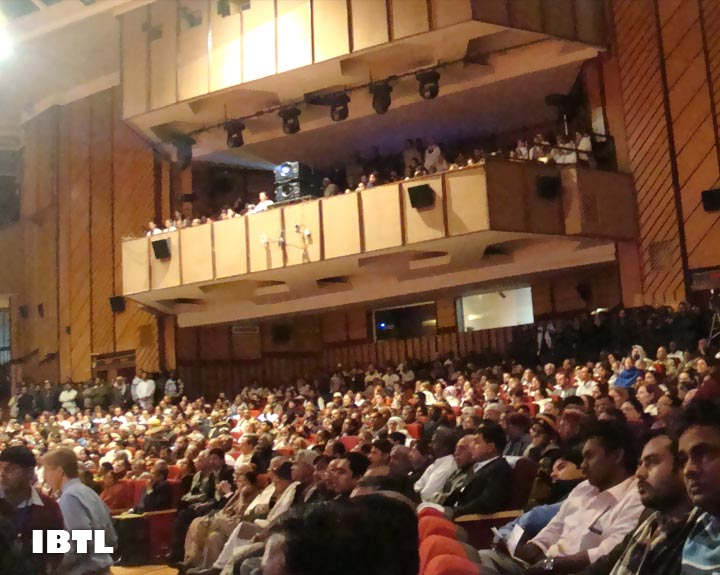 Jam-packed Hall, Sirifort Auditorium