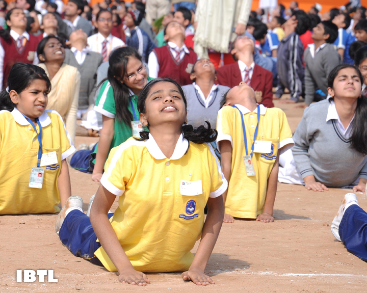 Surya Namaskar Program has been organised at more than 80,000 places throughout the country