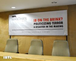 IB on the Brink? : Politicizing Terror A Disaster in Making