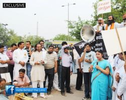 Citizen's Silent March Against Murder of Democracy