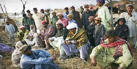 RAJANPUR, Occupied Balochistan, Mawali Bugti, Qaisar Bugti, Ghanra Bugti, Kharghi Bugti, PML-N, Balochistan, Baloch Republican Party, BRP, ibtl