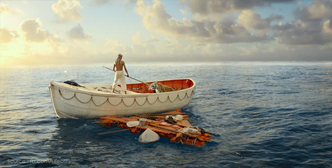 What is Life of Pi all about, art of living and life of pie, sri sri with life of pie