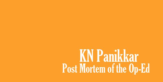 The Hindu, Op-Ed Vivekananda legacy of Universalism, Swami Vivekananda, JNU Professor, K N Panikkar, eminent Historian