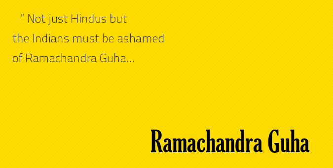 Hindus, Ramachandra Guha, guha articles and books