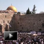 Christian, Jewish, pilgrims, Jerusalem, Good Friday, Passover