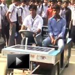 Narava, Andhra Pradesh, Solar car, students, Hybrid, solar car, IBTL