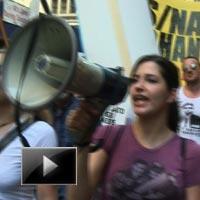 Clashes, nato, protesters, demand