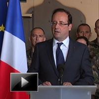 Hollande, defends, french, Exit, afghanistan, video, news, ibtl