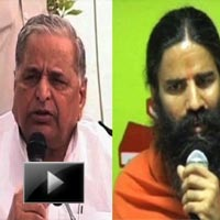 Baba Ramdev, mulayam singh yadav, campaign, corruption, N Chandrababu Naidu, meeting, news, videos, ibtl