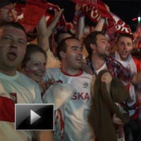 Polish, fans, celebrate, after, draw, with, russia, quarter-finals berth, news, videos, ibtl