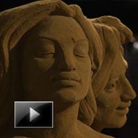 Fairytale, World, belgium, sand, Sculpture, festival, news, ibtl, videos
