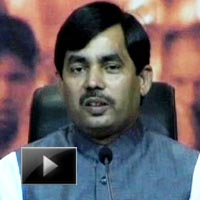 BJP, Shahnawaz Hussain, UPA, Prez polls, Congress, Manmohan singh, news, videos, ibtl