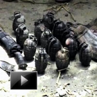 India, National News, Live grenades, Ammunitions, ajmer, Khwaja Moinuddin Chishti