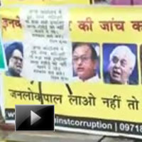New Delhi, India, Annahazare, Fasting, Jantar Mantar, Lokpal bill, news, ibtl, videos