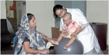 Deendayal Upadhyaya Institute, Handicapped,Nirankar Swaroop, Speech Therapy