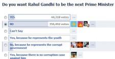 Facebook, Rahul Gandhi, MTV India, Prime Minister