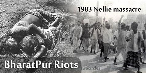 Rajdeep Sardesai, shocking pics, Bharatpur riots, Godhra Riot, CNNIBN
